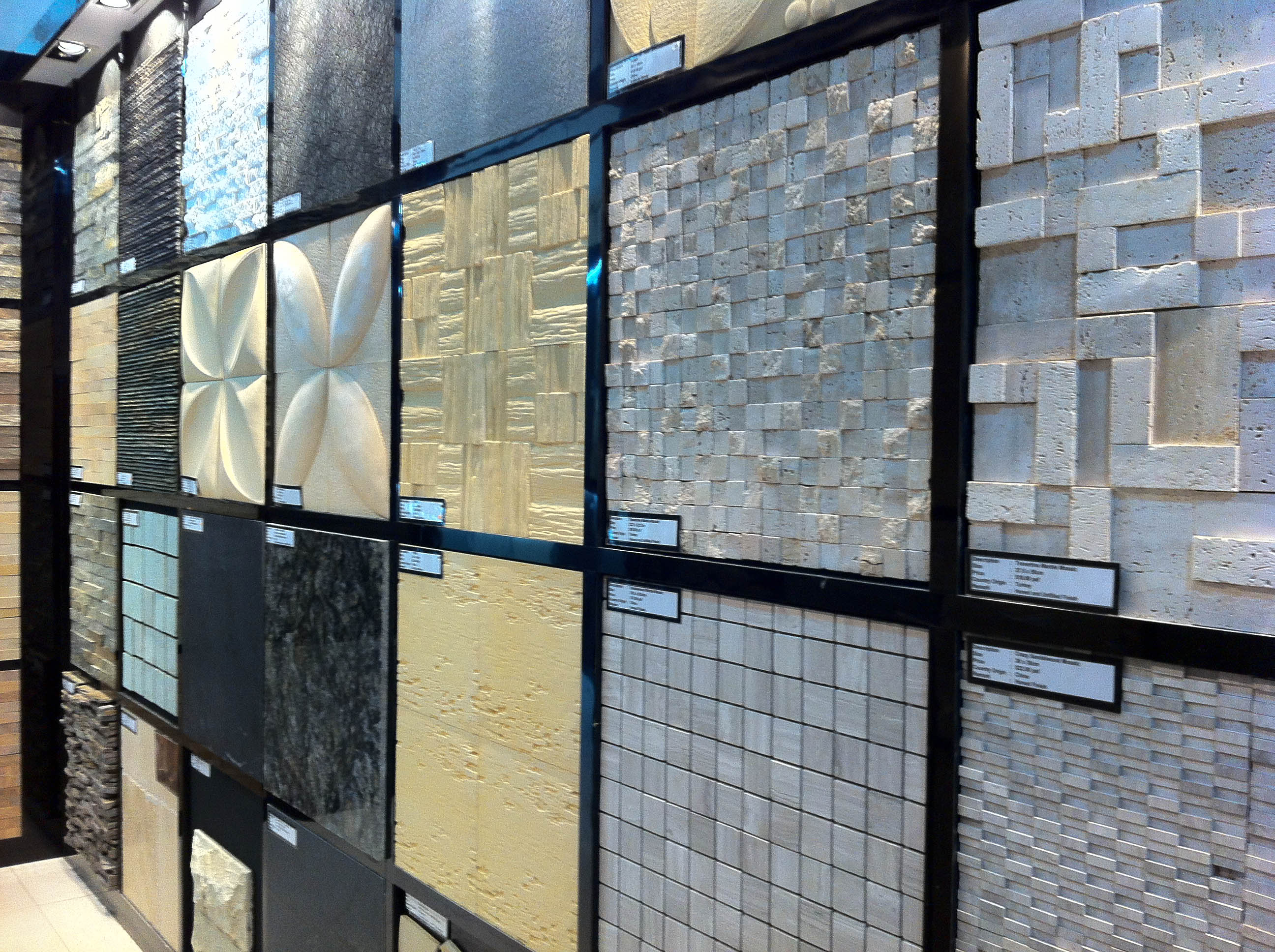 Selection of tiles with your Interior Designer - Vincent Interior ...