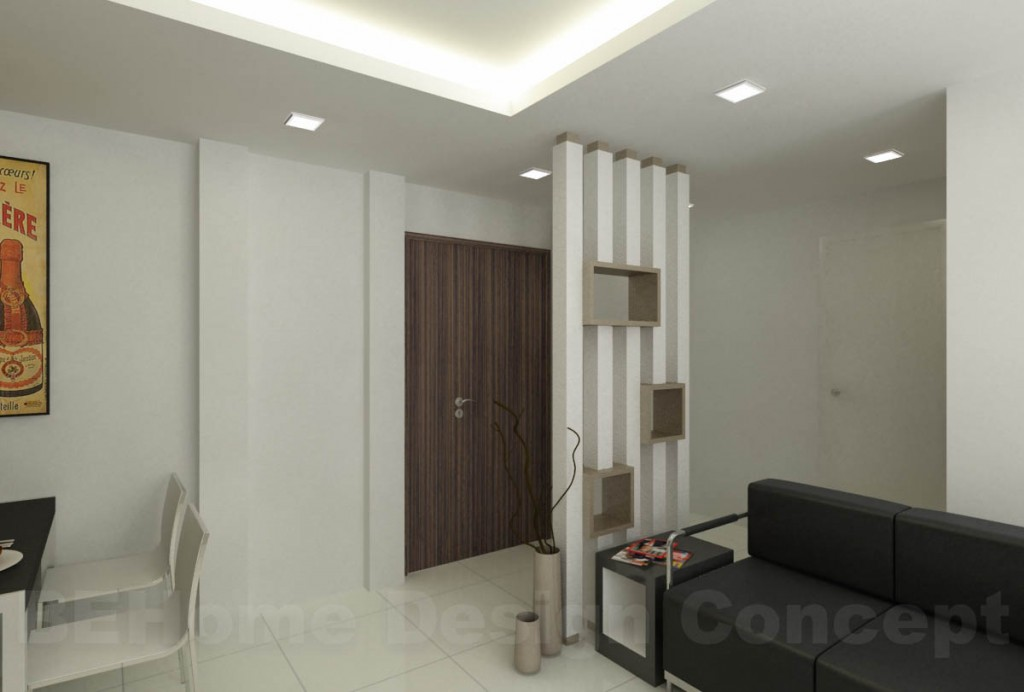 Punggol 4 room hdb renovation part 9 day 40 project for Grand designs 3d renovation interior