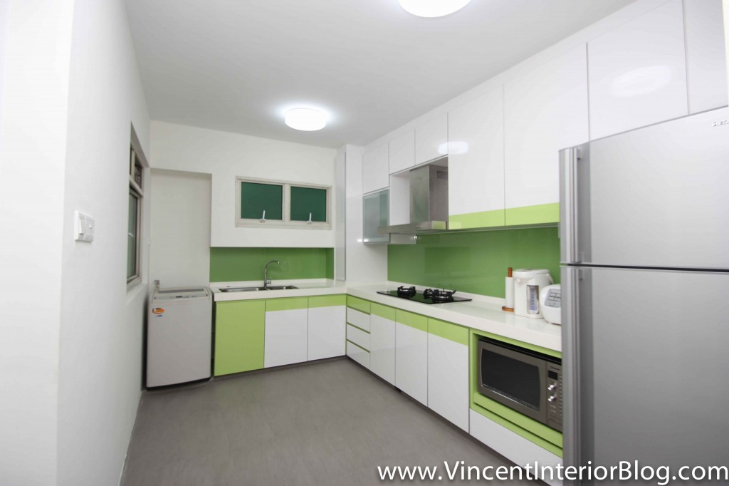 Punggol 4 room hdb renovation part 9 day 40 project for Kitchen design hdb