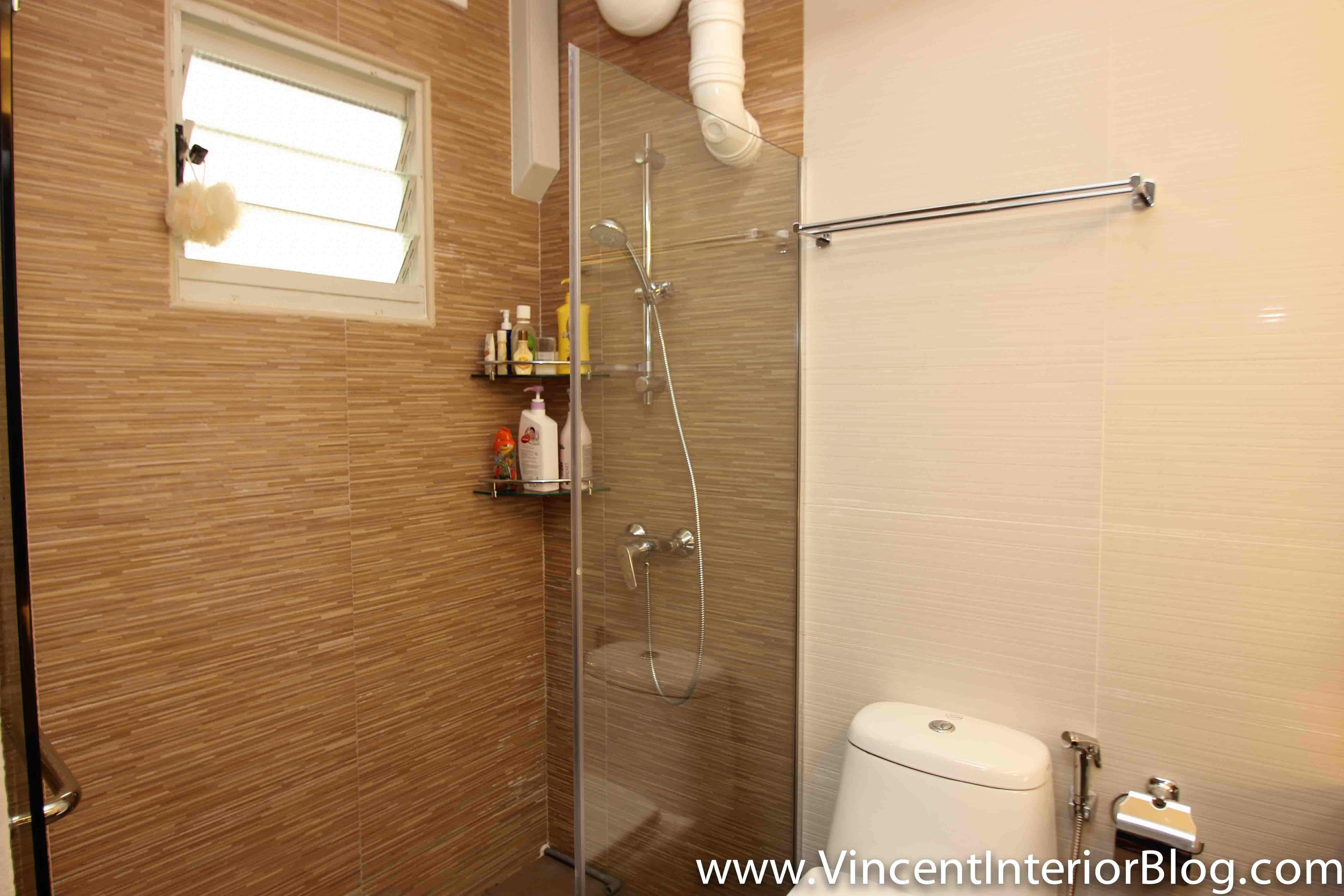 Punggol 4 room hdb renovation part 9 day 40 project for Toilet renovation design