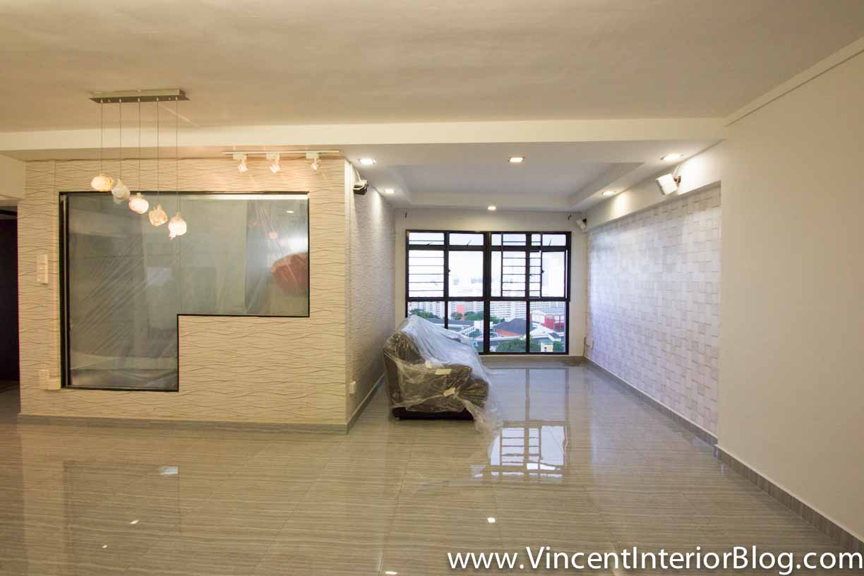 Hdb 5 room renovation design for 4 room flat renovation design