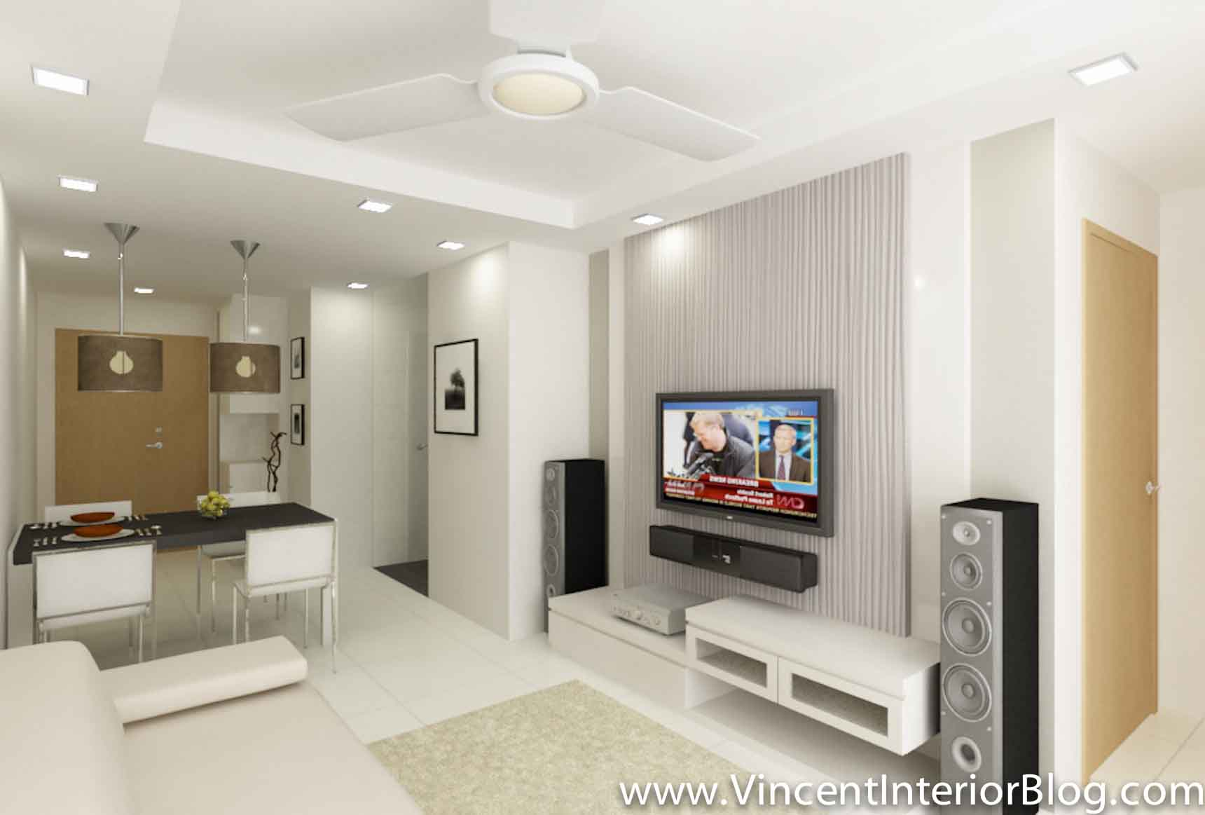 Bto 3 room hdb renovation by interior designer ben ng for Living room 3