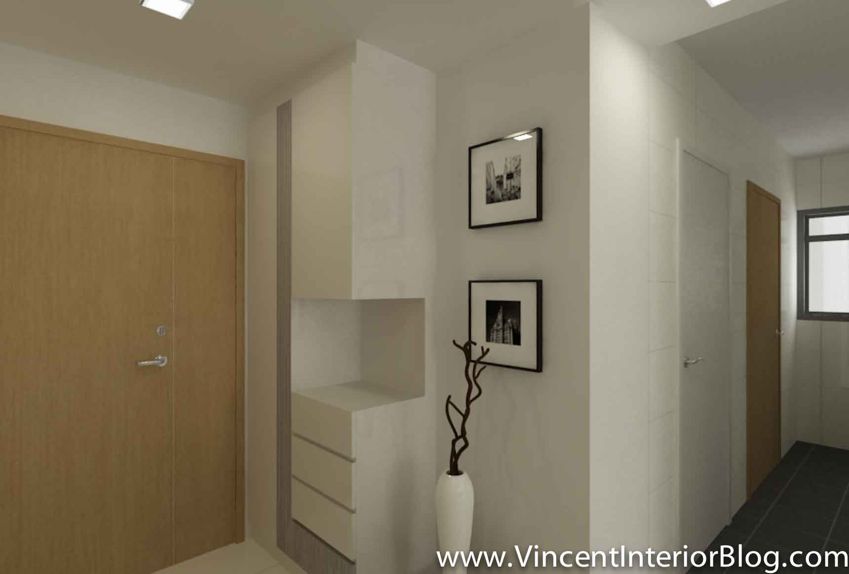 Bto 3 room hdb renovation by interior designer ben ng for 3 room design ideas