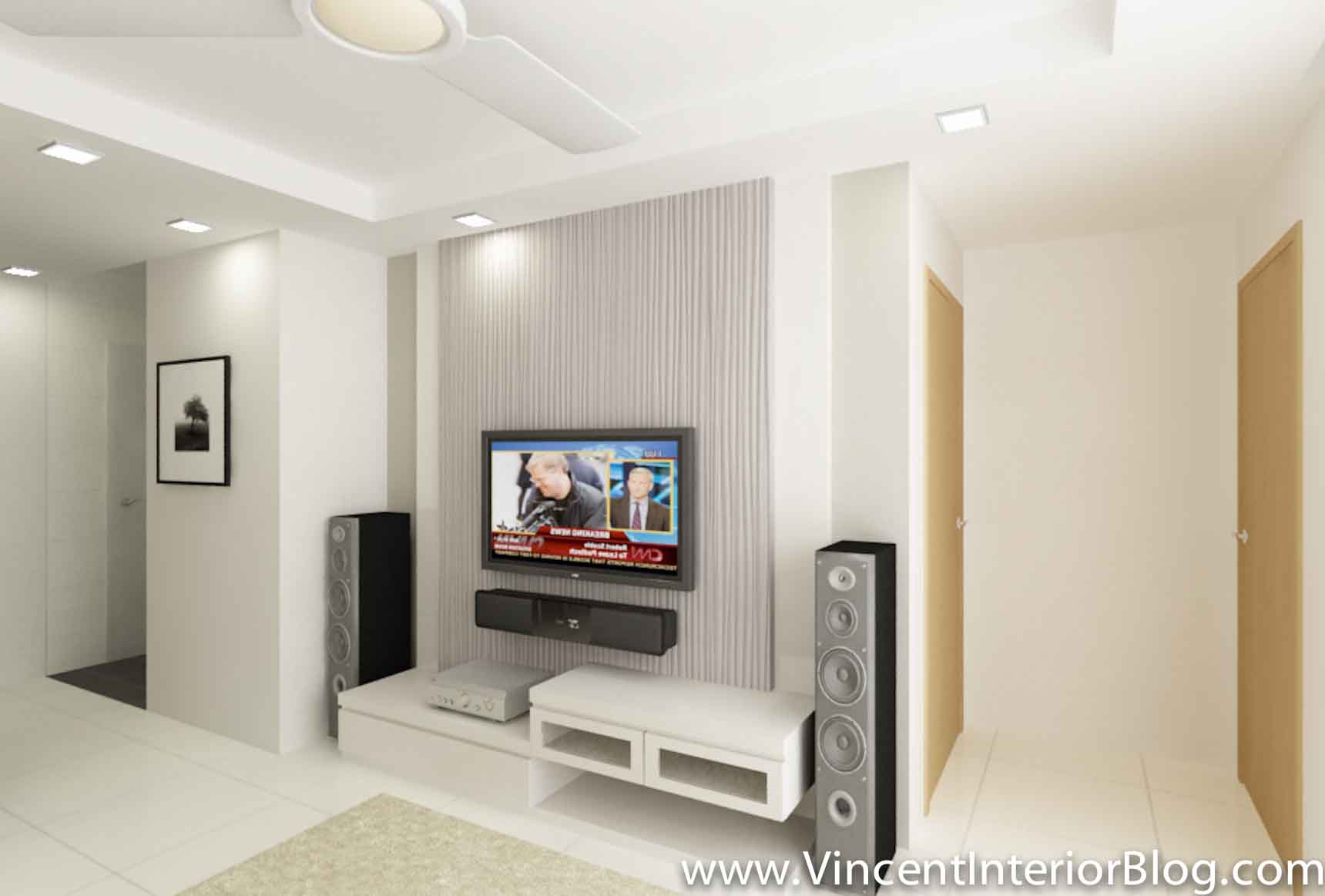 3 room HDB SengKang Living Room 3 Vincent Interior Blog Vincent