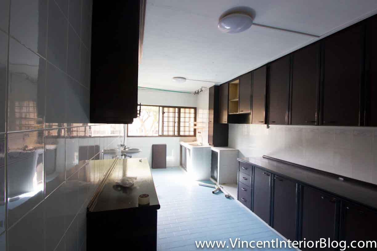Resale 4 room hdb renovation kitchen toilet by behome design concept part 1 vincent Kitchen door design hdb