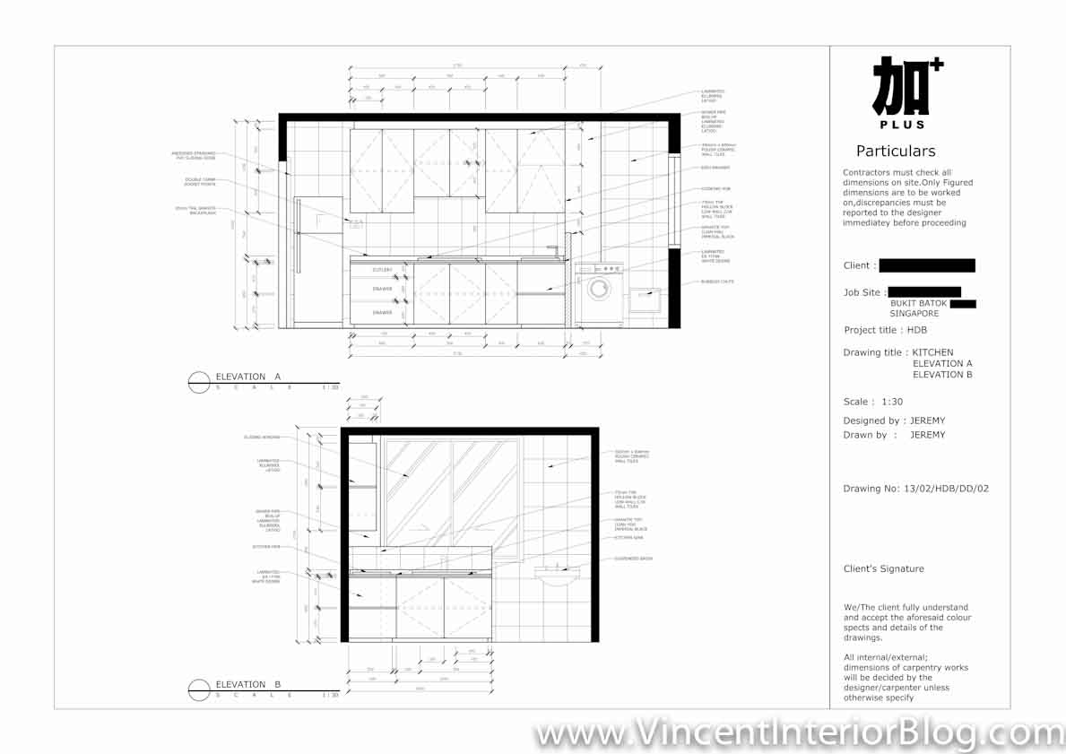 Resale 3 Room HDB Renovation Kitchen Toilet By PLUS Interior Design Part 2 Quotation Floor Plan And Hacking