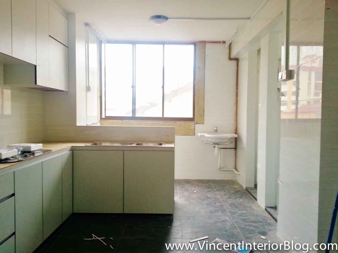 resale 3 room hdb renovation (kitchen & toilet)plus interior