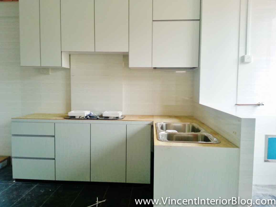 Resale 3 Room HDB renovation (Kitchen & Toilet) by PLUS Interior ...