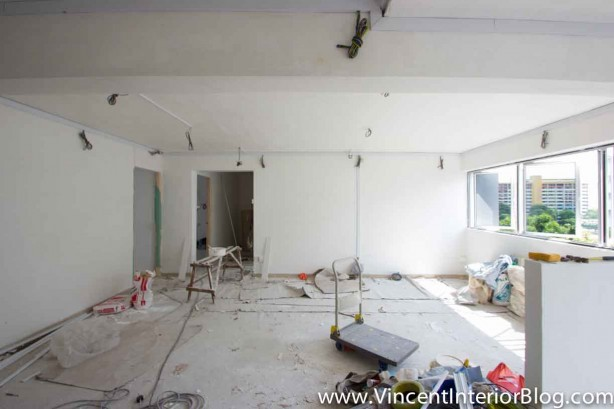 5 room HDB Yishun renovation Interior Design BEhome Design Concept-Living Room 7