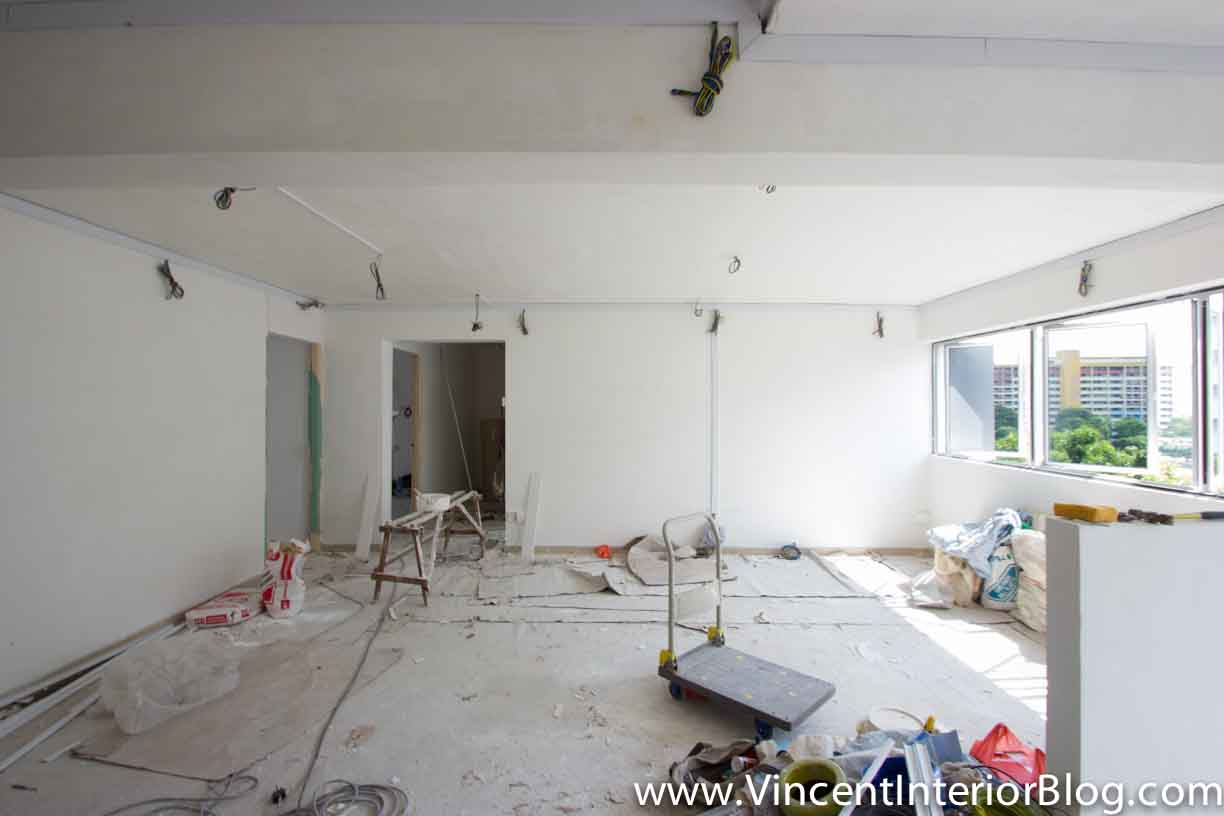 Yishun 5 room hdb renovation by interior designer ben ng for Interior designer 7