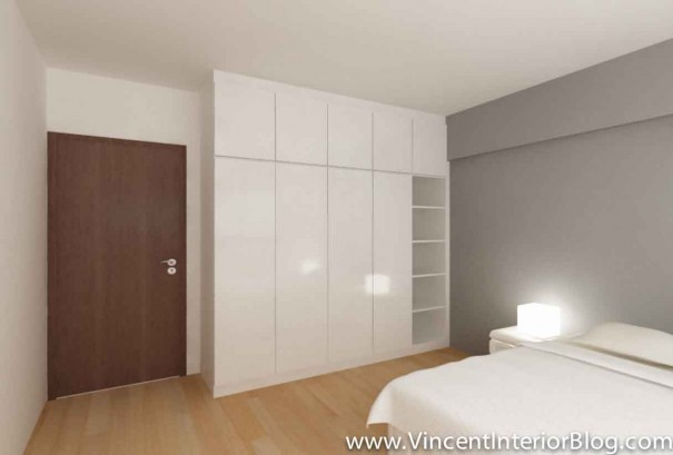5 room HDB Yishun renovation Interior Design BEhome Design Concept-Perspective 2