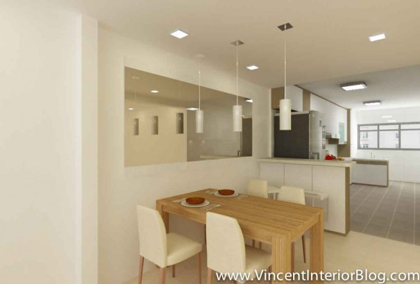 5 room HDB Yishun renovation Interior Design BEhome Design Concept-Perspective 3