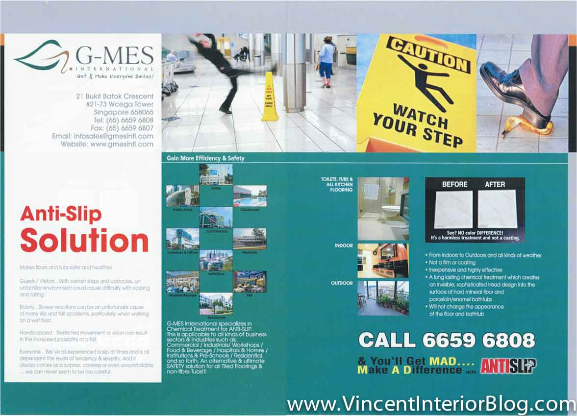 Anti Slip Floor Solution By G Mes Protect Old Folks