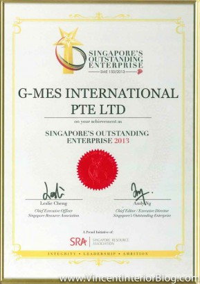 G-MES International award certification-1