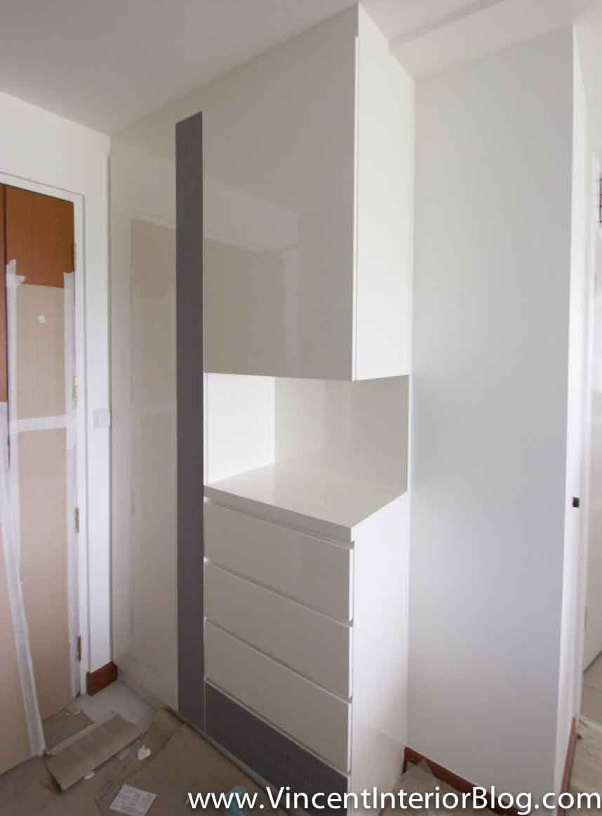 Bto 3 room hdb renovation by interior designer ben ng part 4 final stage vincent interior Kitchen door design hdb