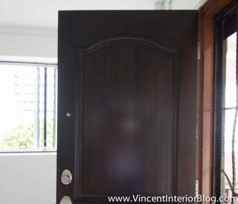 Yishun 5 room HDB renovation BEhome Design concept - Door 1