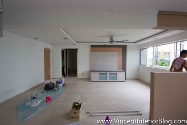 Yishun 5 room HDB renovation BEhome Design concept - Living Room 10