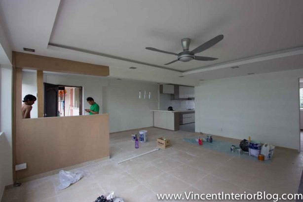 Yishun 5 room HDB renovation BEhome Design concept - Living Room 17