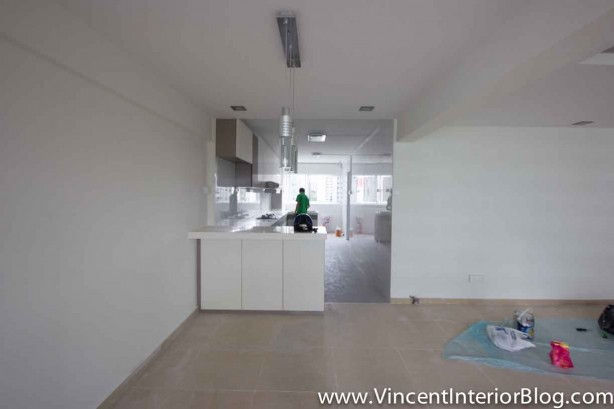 Yishun 5 room HDB renovation BEhome Design concept - Living Room 3