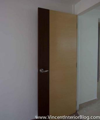 Yishun 5 room HDB renovation BEhome Design concept -Veneer Door 12