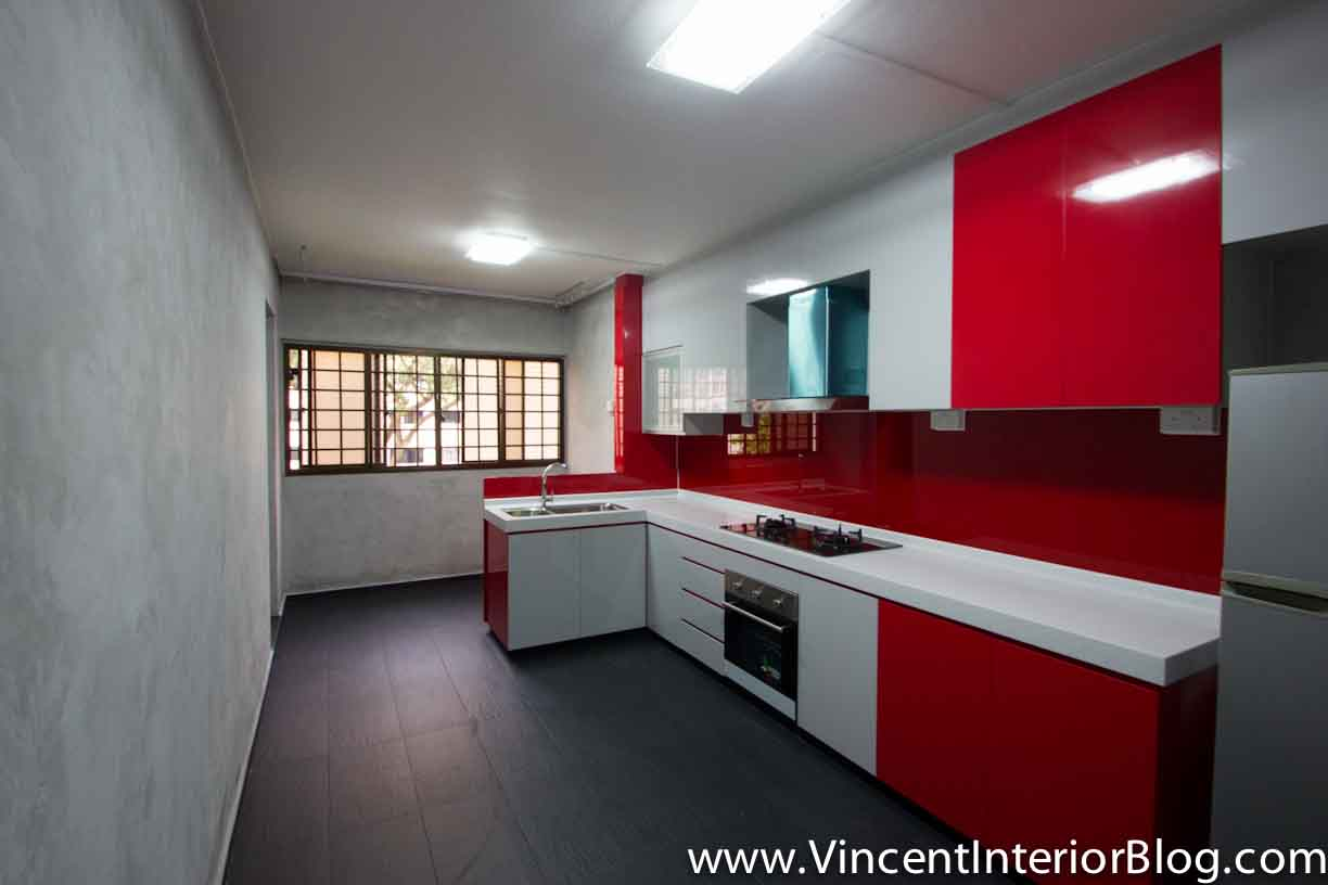 BEhome Design Concept Potong Pasir 4 room HDB Kitchen 1Resale 4 room HDB renovation  Kitchen   Toilet  by BEhome Design  . Hdb 4 Room Kitchen Design. Home Design Ideas