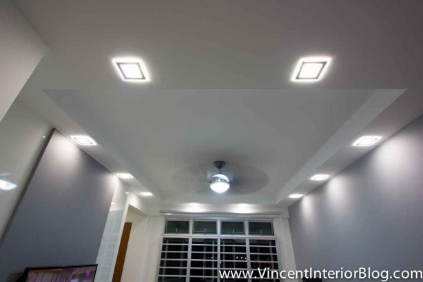 BEhome Design Concept SengKang 3 room HDB- False Ceiling 4