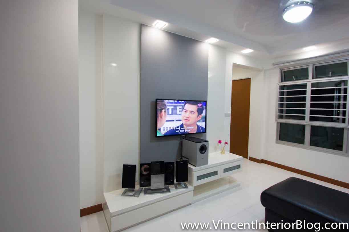 BTO 3 Room HDB Renovation By Interior Designer Ben Ng U2013 Part 5 U2013 Project  Completed