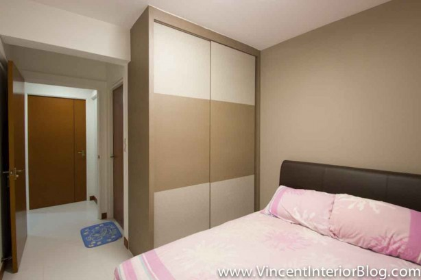 Bto 3 room hdb renovation by interior designer ben ng part 5 project completed vincent Hdb master bedroom toilet design