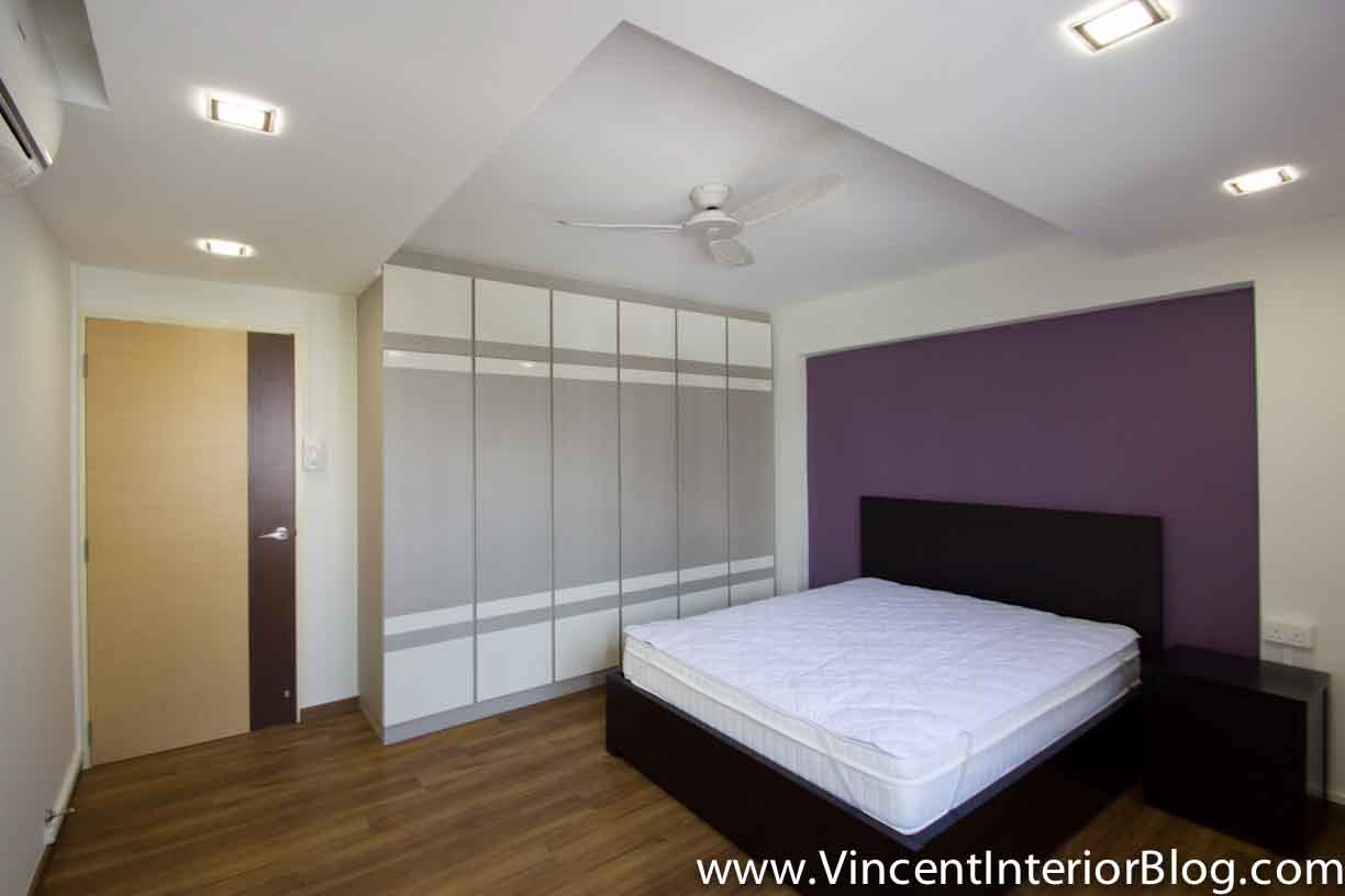 Yishun 5 room hdb renovation by interior designer ben ng for Bedroom ideas hdb