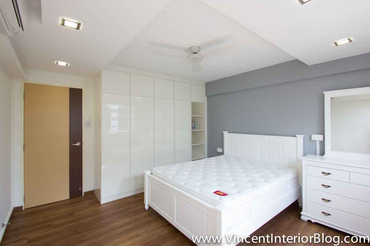 Yishun 5 room hdb renovation by interior designer ben ng for Bed rooms design