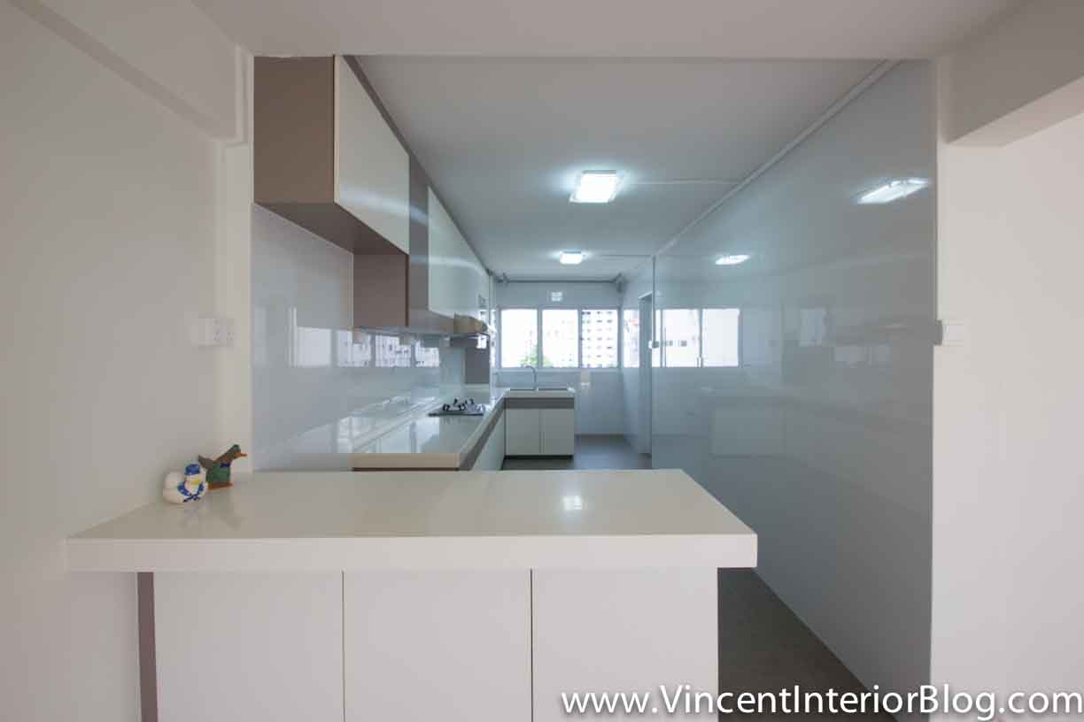 Yishun 5 room hdb renovation by interior designer ben ng part 6 project completed vincent Kitchen design in hdb