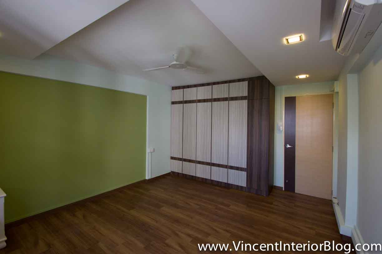 Yishun 5 room hdb renovation by interior designer ben ng for Interior design 4 bedroom house