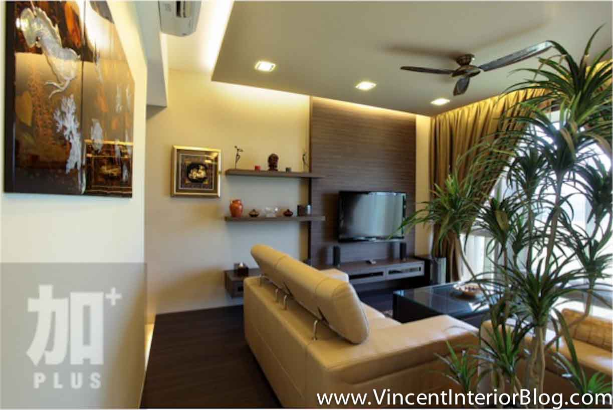Singapore interior design ideas beautiful living rooms vincent interior blog vincent - Modern tv interior design ...