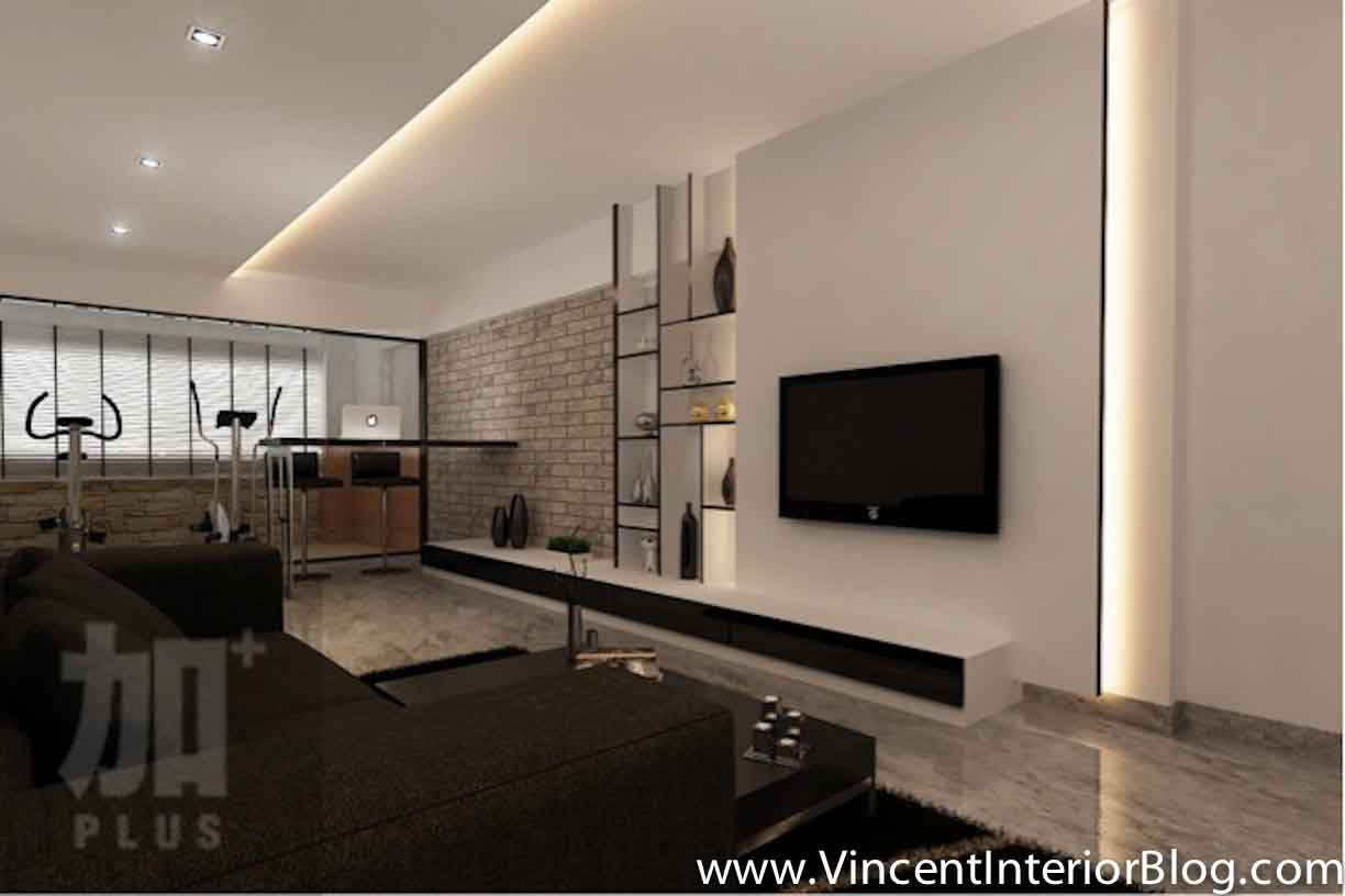 Interior design feature walls living room style for Interior design for 12x12 living room
