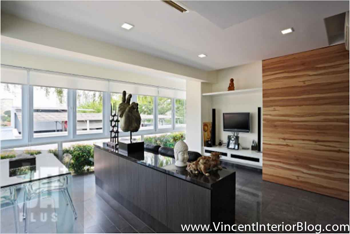 Singapore interior design ideas beautiful living rooms vincent interior blog vincent - Living room tv wall design ...
