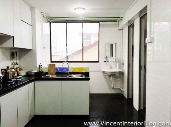 Resale 3 Room HDB renovation Kitchen Toilet by PLUS Interior