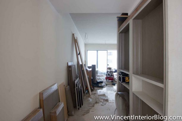 Parc Seabreeze Condominium Renovation The Design Concept-Living Room 1