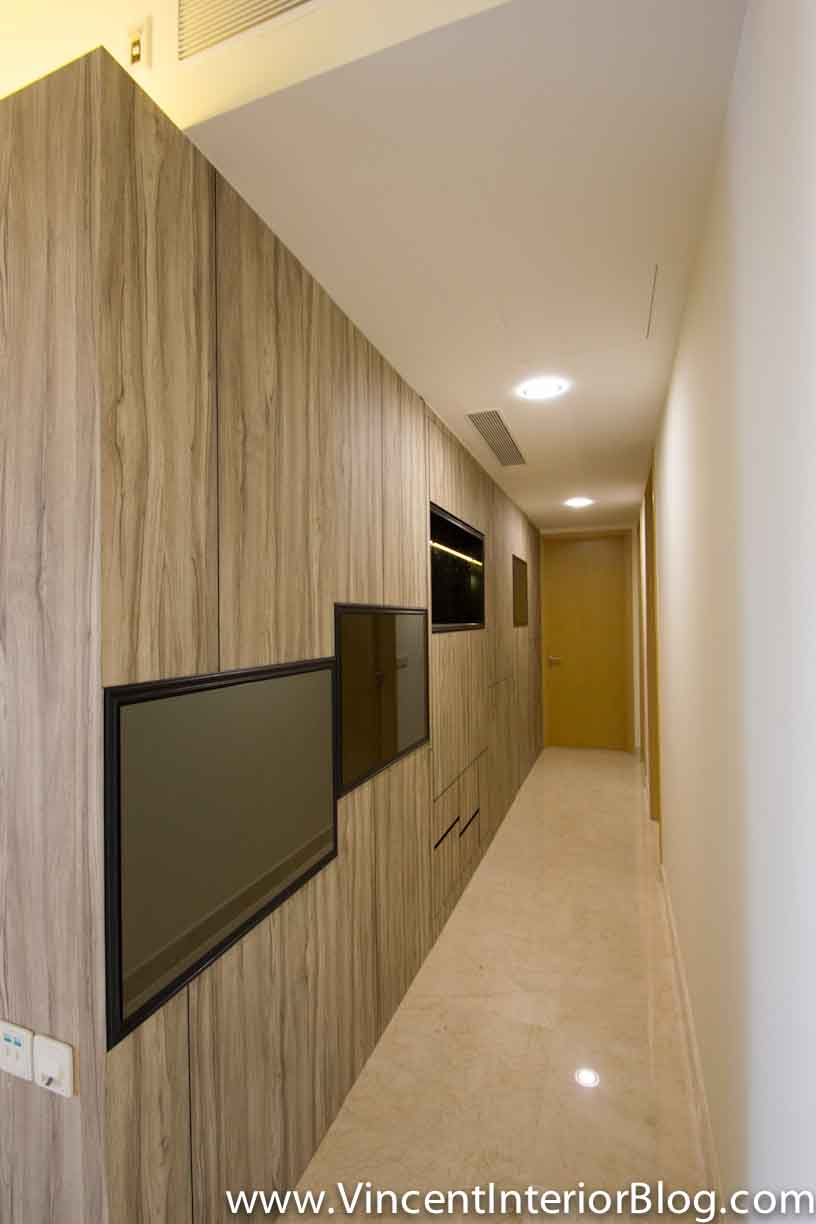 Corridor Design: Singapore Condominium Parc Seabreeze Renovation By Raymond