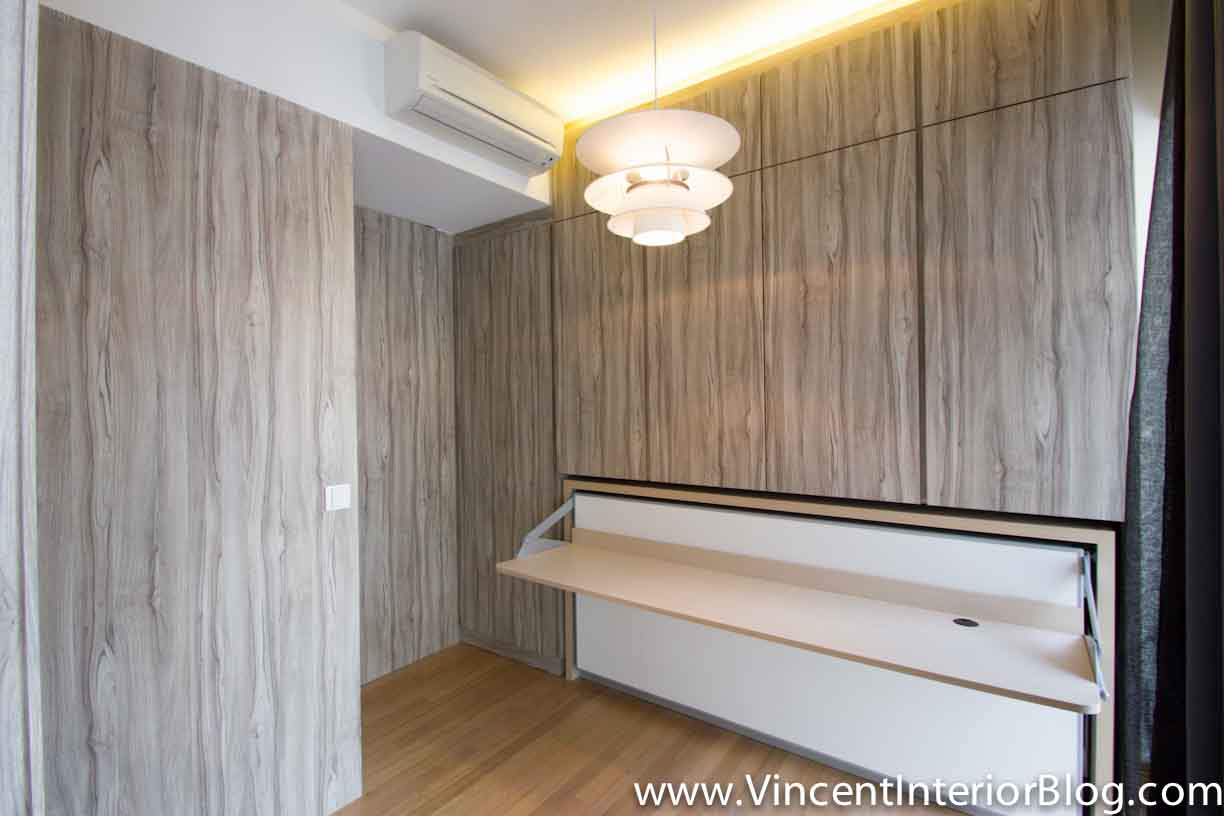 Singapore condominium parc seabreeze renovation by raymond for Bedroom designs singapore