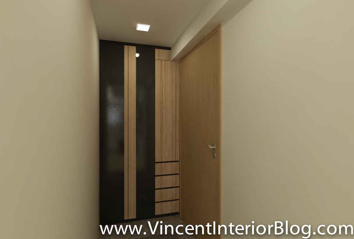 Sims drive 5 room hdb point block renovation project by behome design concept perspectives Kitchen door design hdb