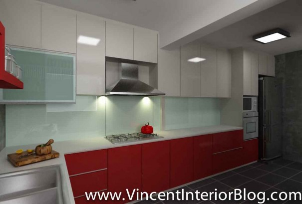5 room HDB renovation sims drive BEhome design concept-kitchen perspective 2