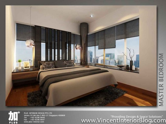 Renovation NV Residence Pasir Ris Grove PLUS interior design-Bedroom perspective 2