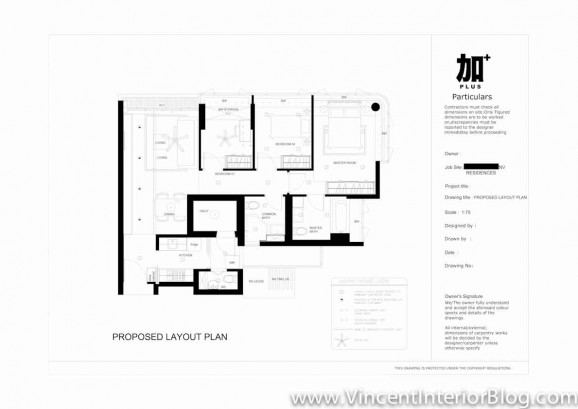 Renovation NV Residence Pasir Ris Grove PLUS interior design-Ceiling Plan 4