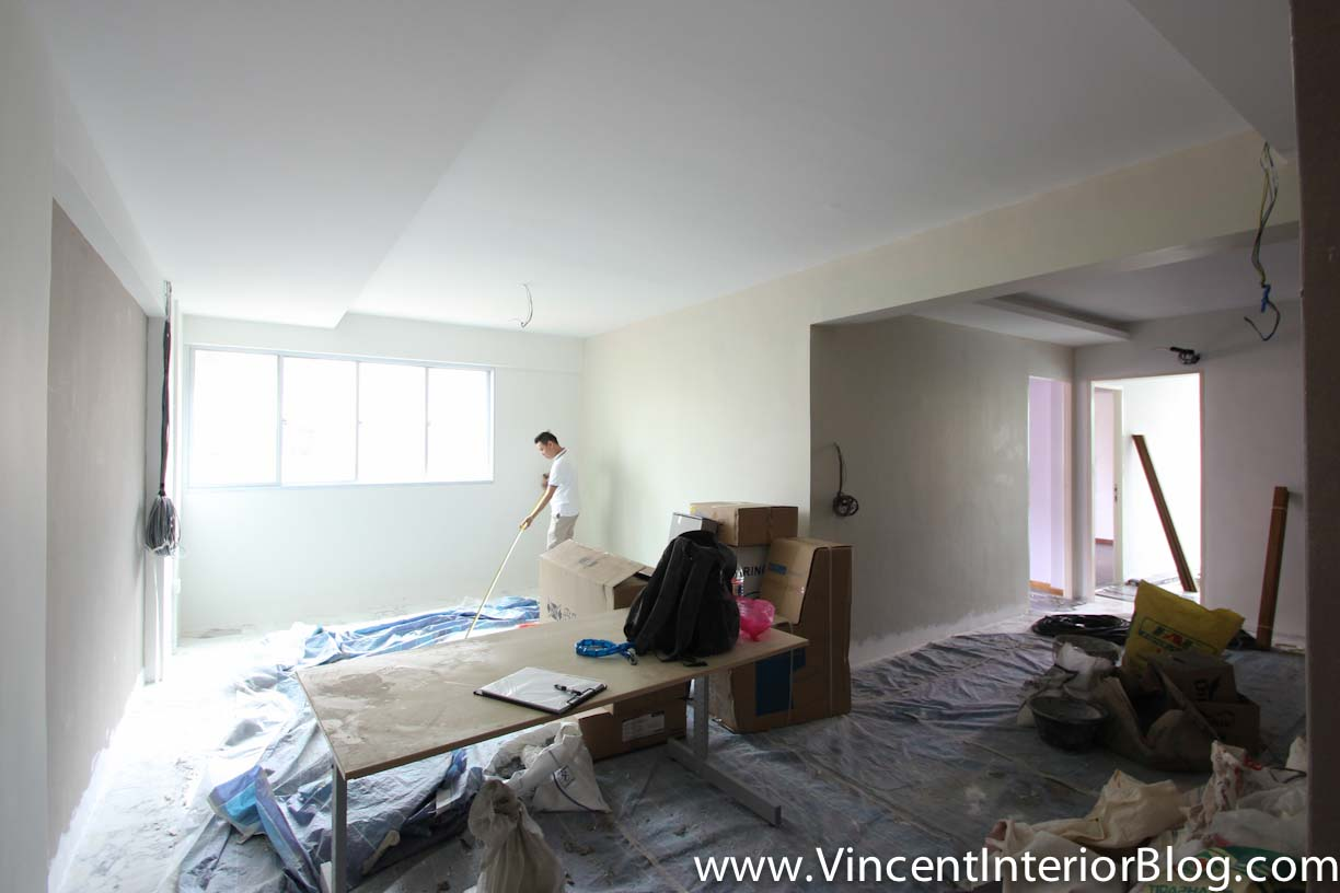 Sims drive 5 room hdb point block renovation project by for Family room renovations