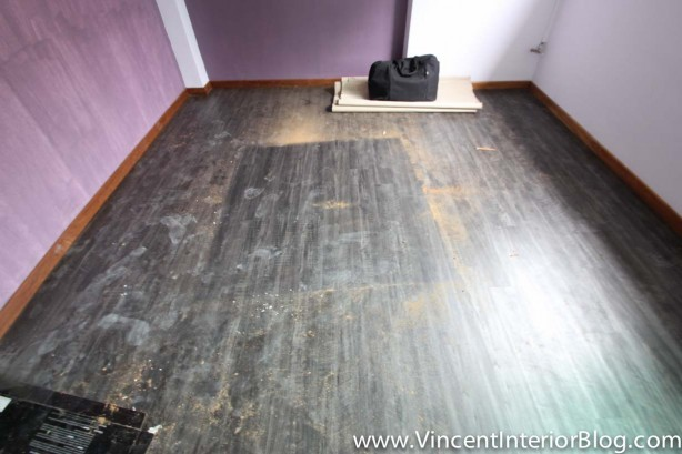 Sims Drive Point block 5 room HDB Renvoation BEhome Design Concept-Vinyl flooring 6