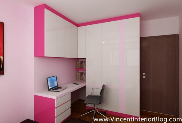 BEhome Design concept 4 room HDB-Kid's room study