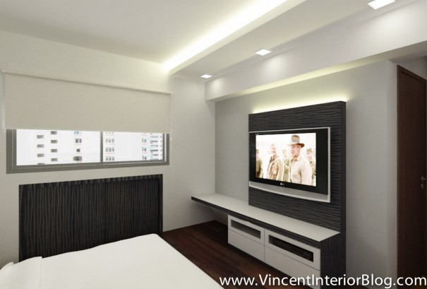 BEhome Design concept 4 room HDB-MBR_Tv area