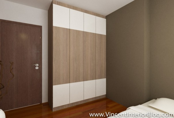 BEhome Design concept 4 room HDB-common room wardrobe