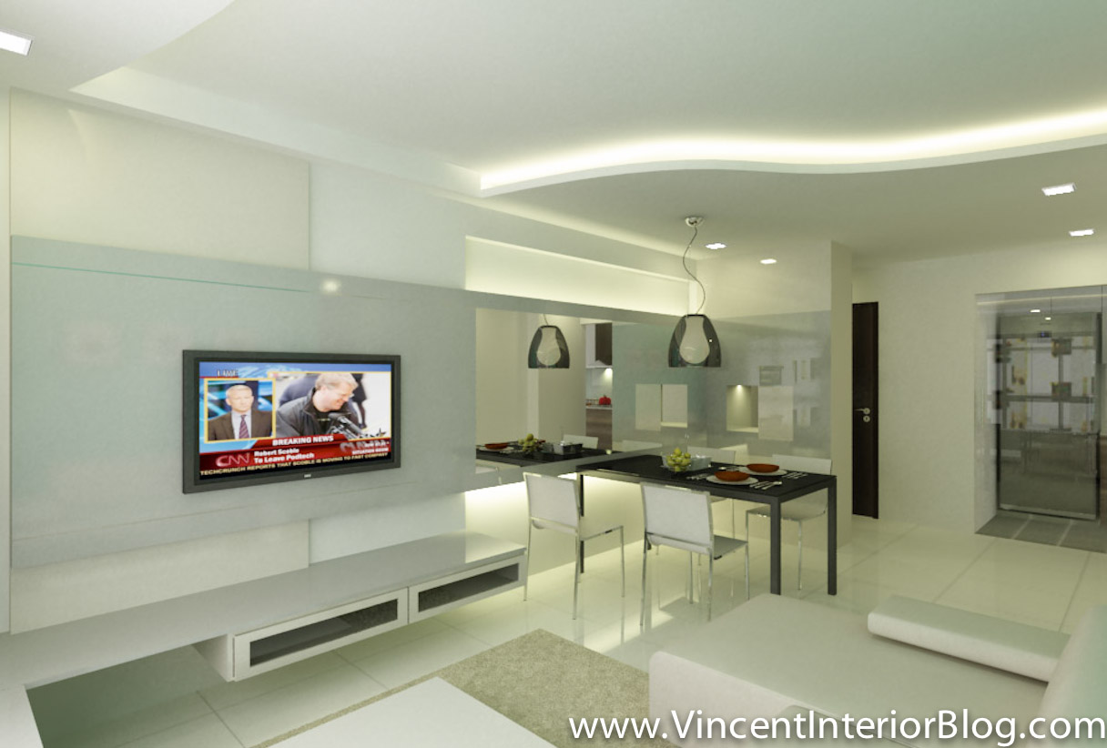 Buangkok vale 4 room hdb renovation by behome design for Room design concept