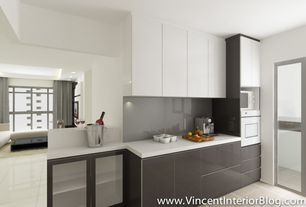 Hdb kitchen open concept hdb home and house design ideas for Interior design 4 room